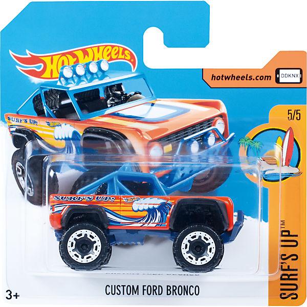 Базовая машинка Hot Wheels, Custom Ford Bronco
