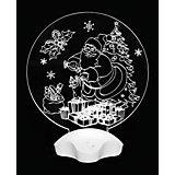 """Новогодний светильник Magic Land """"Дедушка Мороз и подарки"""""""