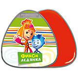 """Ледянка Nika-Kids """"Фиксики"""" грушевидная, 52,5х50 см (зеленый)"""