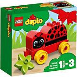Конструктор LEGO DUPLO 10859: Моя первая божья коровка