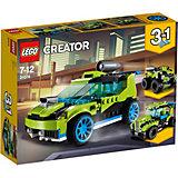 Конструктор LEGO Creator 31074: Суперскоростной раллийный автомобиль
