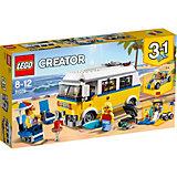 Конструктор LEGO Creator 31079: Фургон сёрферов