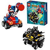 Конструктор LEGO Super Heroes 76092: Mighty Micros: Бэтмен против Харли Квин