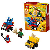 Конструктор LEGO Super Heroes 76089: Mighty Micros: Человек-паук против Песочного человека