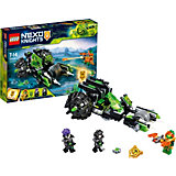 Конструктор LEGO Nexo Knights 72002: Боевая машина близнецов