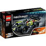 Конструктор LEGO Technic 42072: Зеленый гоночный автомобиль
