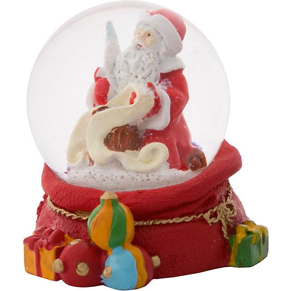 """Снежный шар Magic Time """"Дед Мороз со списком"""""""
