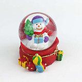 "Снежный шар Magic Time ""Снеговик с подарком"""
