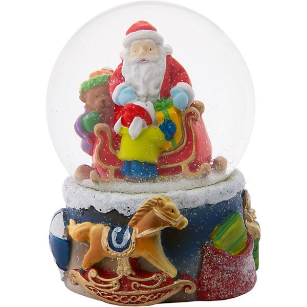 """Снежный шар Magic Time """"Дед Мороз с мишкой и зайкой"""""""