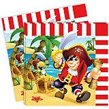 "Салфетки Патибум ""Весёлый пират"" 33х33 см., 12 шт."