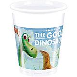 Pc 200мл Стаканы пластиковые Хороший Динозавр 8шт