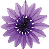 """Украшение для праздника Патибум """"Цветок"""" 36 см., фиолетовый"""