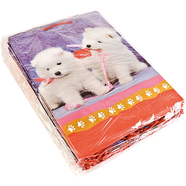 "Пакет подарочный ""Домашине животные  Собаки""  33Х46Х20 см глянцевый"