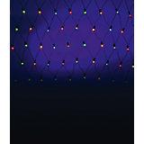 Электрическая гирлянда сетка , 320  ламп, цветная
