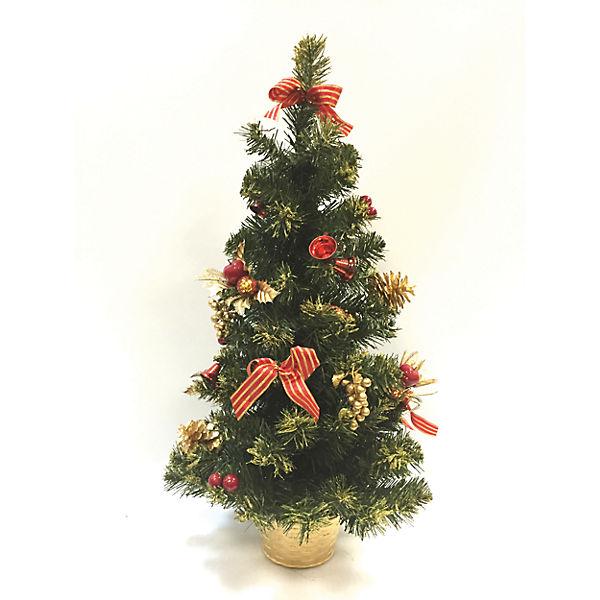 Новогоднее украшение - ёлка- 30 см, в полибеге