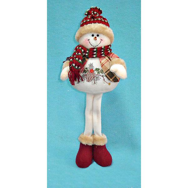 Дед Мороз/Снеговик/Олень в ассортименте, 38 см, в  полибеге