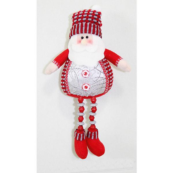 Дед Мороз, Снеговик, Олень, 23 см, в полибеге