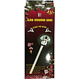 Неоновая светящаяся волшебная палочка со снеговиком