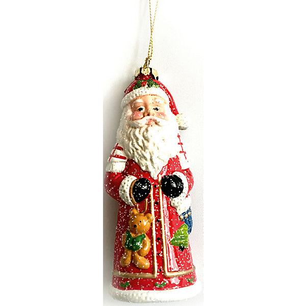 Дед мороз пластиковый в полибэге