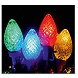 Светодиодная гирлянда, 20Л-220V, размеры лампочек: 2,5*3,5см, внутренняя