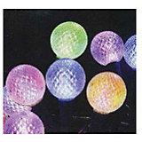 Светодиодная гирлянда, 20Л-220V, диметр шариков: 2,8см, внутренняя