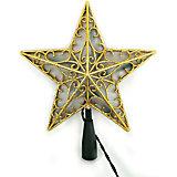 Гирлянда-Звезда верхушка, 10Л-230V, диаметр звезды: 20см, длина шнура:1,5м, внутренняя