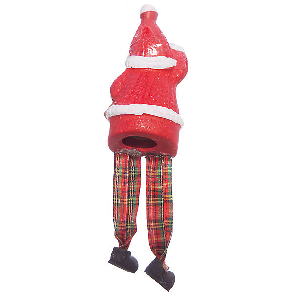 Новогоднее украшение - дед мороз, 2 6,6*5,4*11,2 см