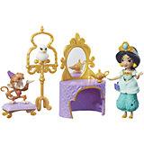 Игровой набор с мини-куклой Hasbro Disney Princess, Туалетный столик Жасмин