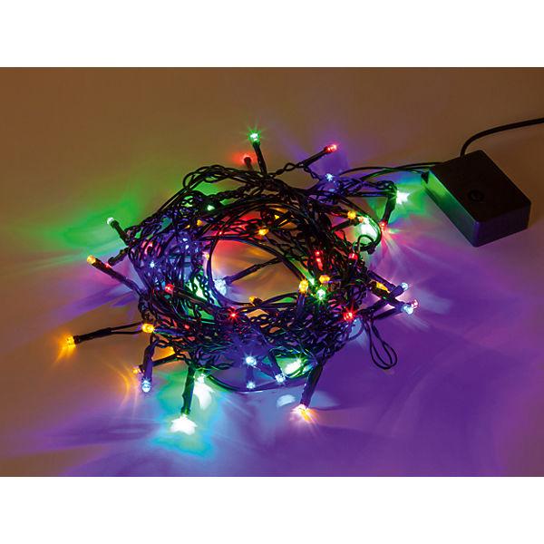 Гирлянда электрическая 60LED Портьера цветного свечения