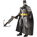"""Базовая фигурка Mattel Batman """"Бэтмен против Супермена"""" Бэтмен в оружием-кошкой, 15 см"""