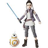 Кукла Star Wars Рэй с дроидом, 27,5 см