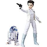 Кукла Star Wars Лея Органа с дроидом, 27,5 см