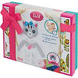 Шьем игрушку из фетра Кошка Алиса подарочная