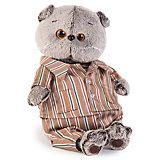 Басик в шелковой пижамке