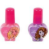 """Игровой набор Markwins Barbie """"Декоративная косметика"""" Лак для ногтей, 2 штуки"""
