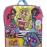 """Игровой набор Markwins Barbie """"Декоративная косметика"""" с рюкзаком"""