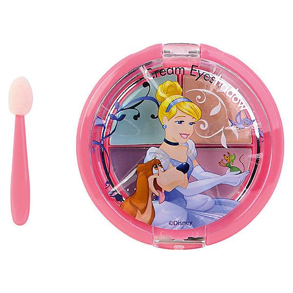 """Игровой набор Markwins Disney Princess """"Декоративная косметика"""" Тени для век, 4 цвета (Золушка)"""