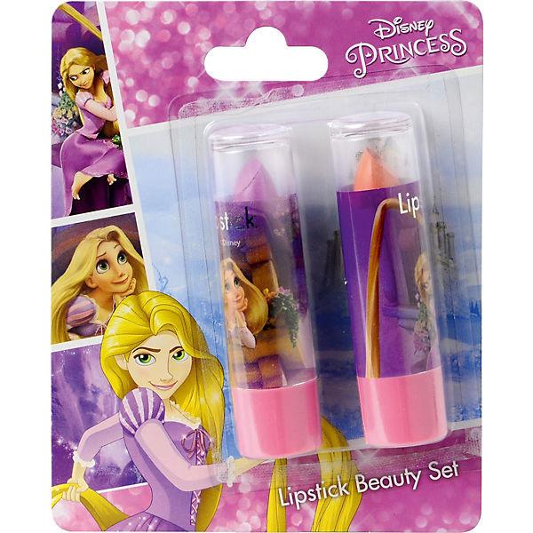"""Игровой набор Markwins Disney Princess """"Декоративная косметика"""" Помада, 2 штуки (Рапунцель)"""