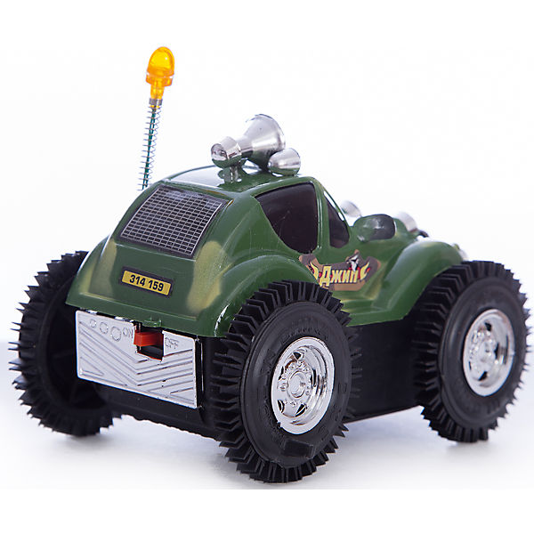 """Машина-перевертыш """"Полиция патруль"""" на батарейках."""