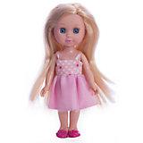 "Кукла "" Машенька"" 15 см, пластиковые глаза, без звука."