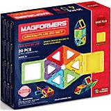 Магнитный конструктор в комплекте симка 715001 Window Plus Set 20 set, MAGFORMERS