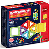 """Магнитный конструктор Magformers """"Window Plus Set 20 set"""" Фиксики, Нолик"""