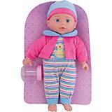 "Кукла Полли ""Милый болтун"", 33 см, м-н, озвуч., рюкзак"