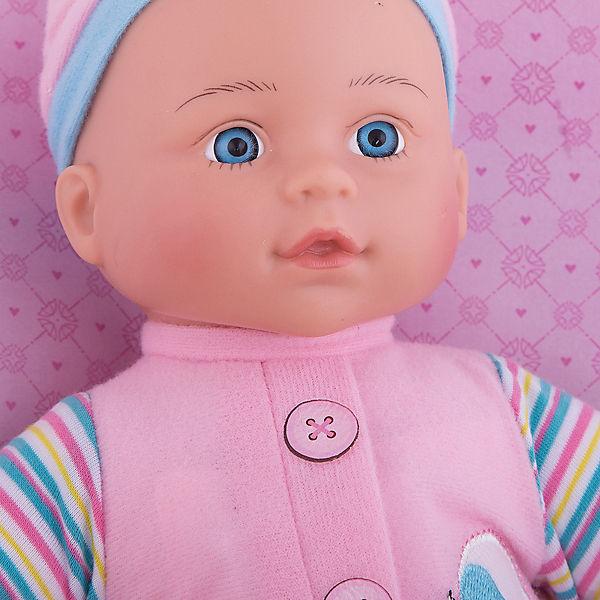"""Кукла-пупс Mary Poppins """"Милый болтун"""" Полли в комбинезоне с птичкой, 33 см (звук)"""