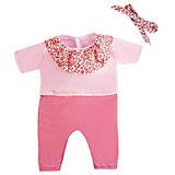 Одежда для куклы 38-43см, комбинезон и повязка.