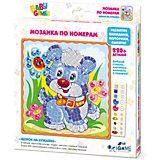 "BABY GAMES Мозаика по номерам ""Щенок на лужайке""  арт. 03310"