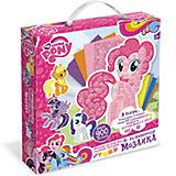 Мозаика-набор д/малышей «My little pony». Фигурная 3D аппликация