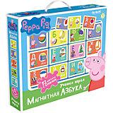 Свинка Пеппа.Наст.игра.Магнитная азбука.02540.