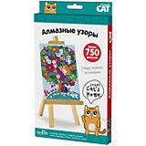 """Алмазная мозаика Origami """"Чудо-творчество"""" Sweet cat's home, 750 деталей"""