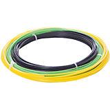 Комплект ABS-пластика ESUN 1.75 мм, (черный, желтый, светло-зеленый)
